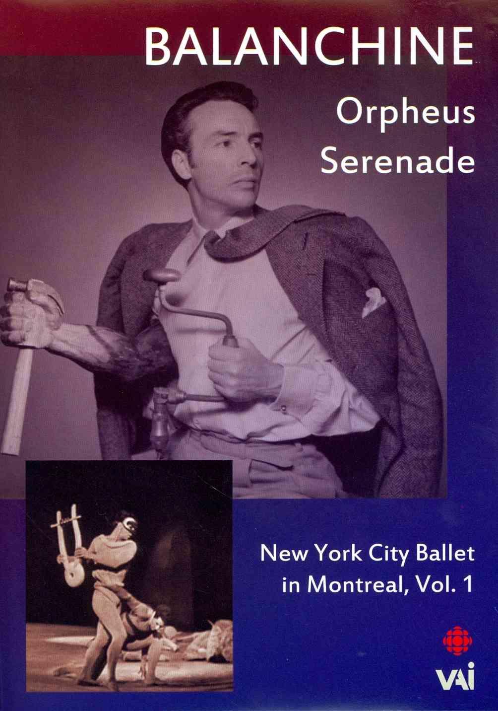 NEW YORK CITY BALLET IN MONTREAL:V1 BY NEW YORK CITY BALLET (DVD)